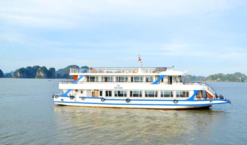 tàu ngày sang trọng 99 khách