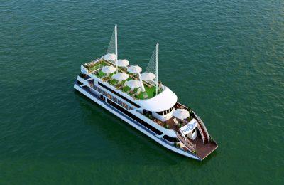 tàu siêu VIP trọng tải 99 khách